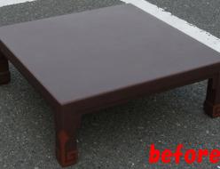 塗り直し前|テーブルの塗り直しを行いました